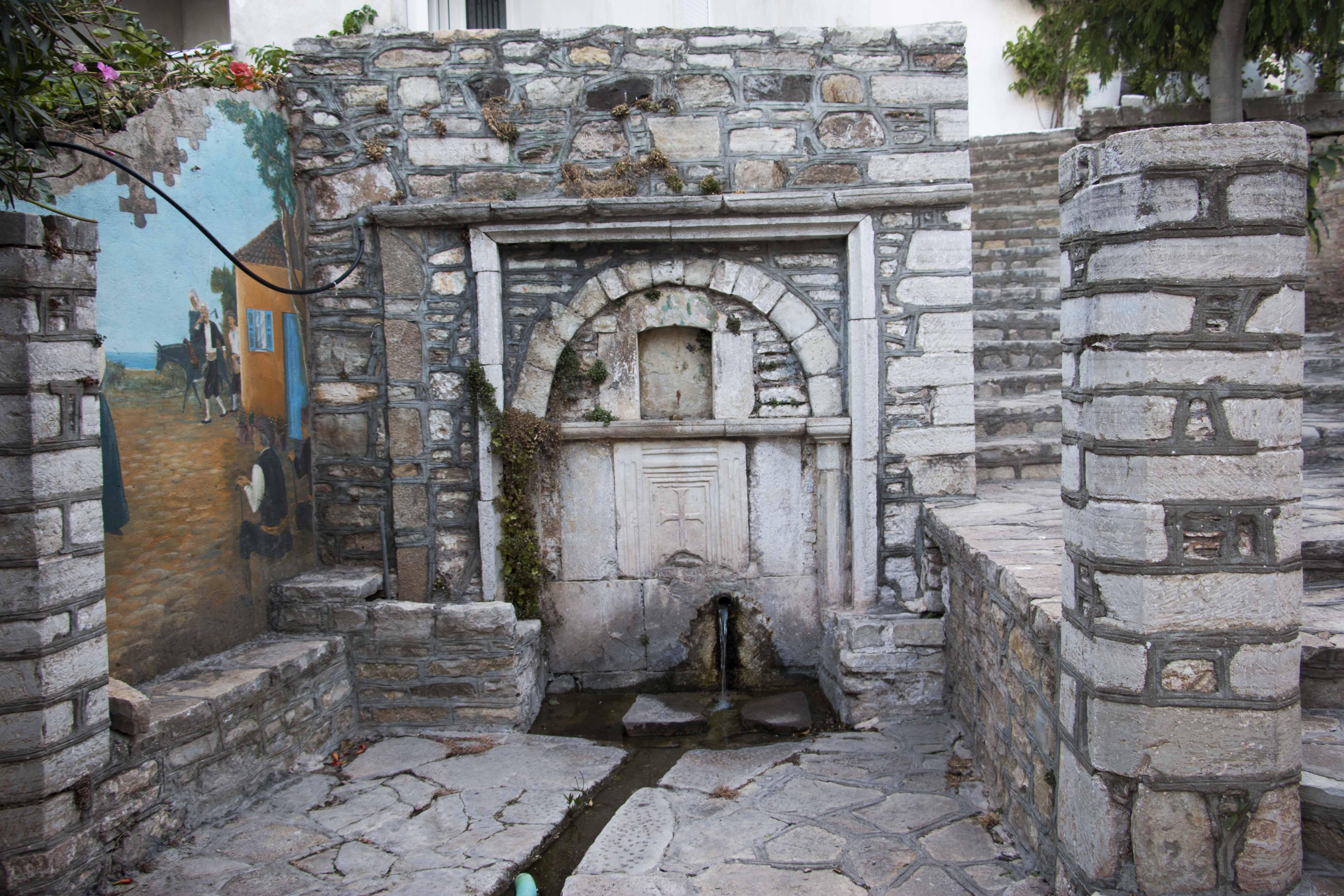 Βρύση Σγούρου, Μαραθόκαμπος Σάμου