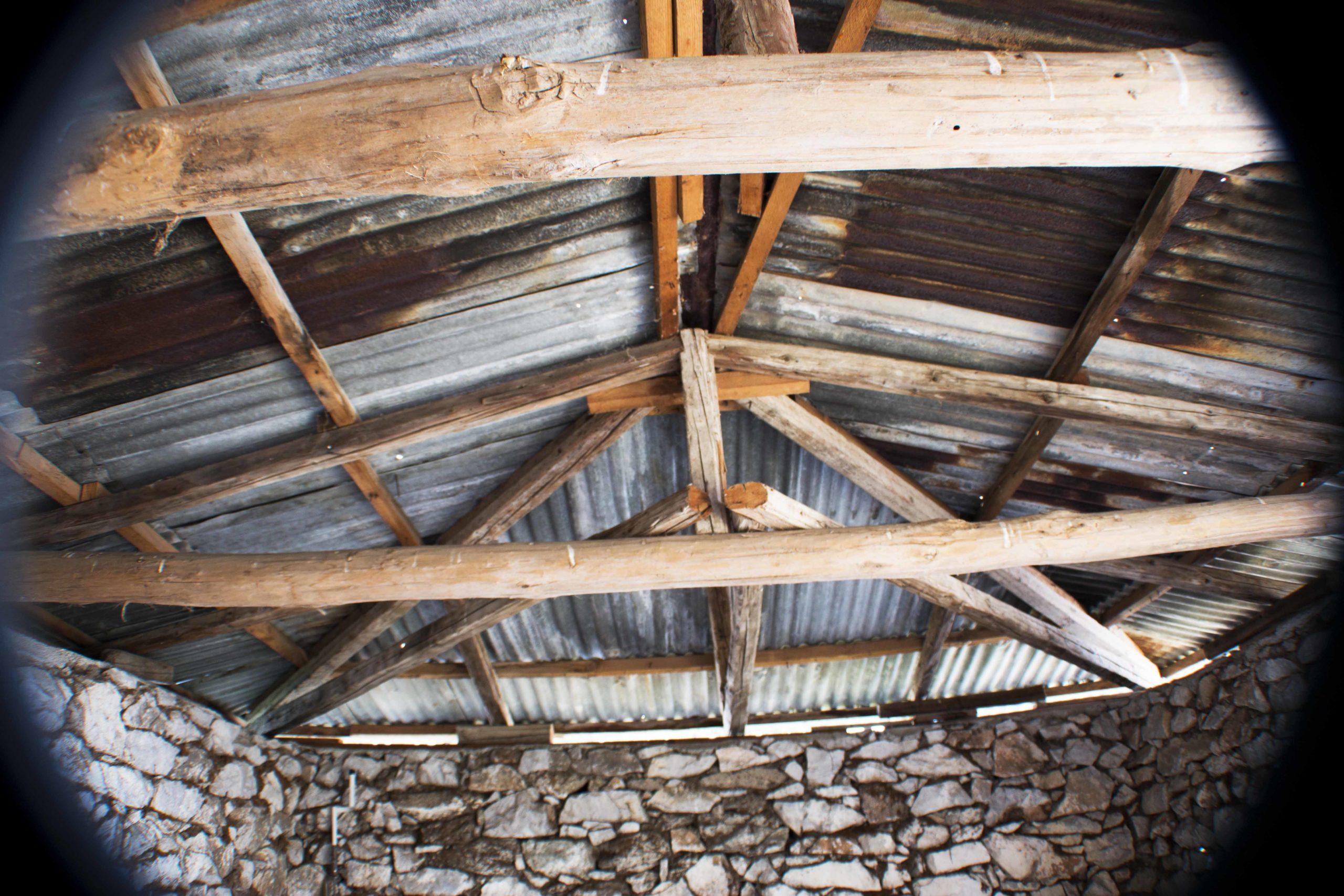 Εσωτερική κατασκευή μαδεριών σκεπής, Παναγίτσα Τρικάλων 1