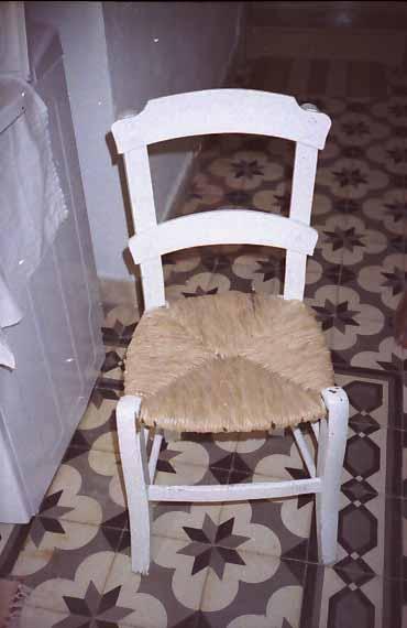 Καρέκλα ψάθινη 1