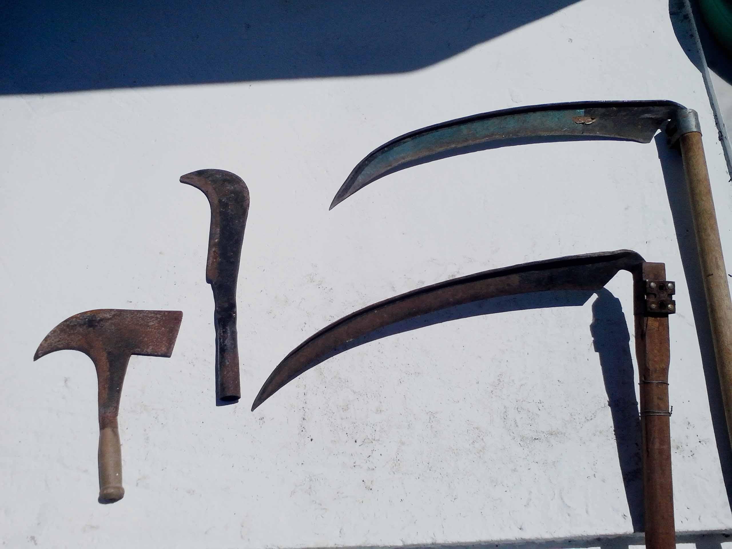 Κόσα, Παλιουροκόπι, Δερπανοκλαδευτήρι