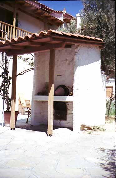 Φούρνος, δίχωρος ( καύσης - μαγειρέματος), Κάμπος Μαραθοκάμπου Σάμου