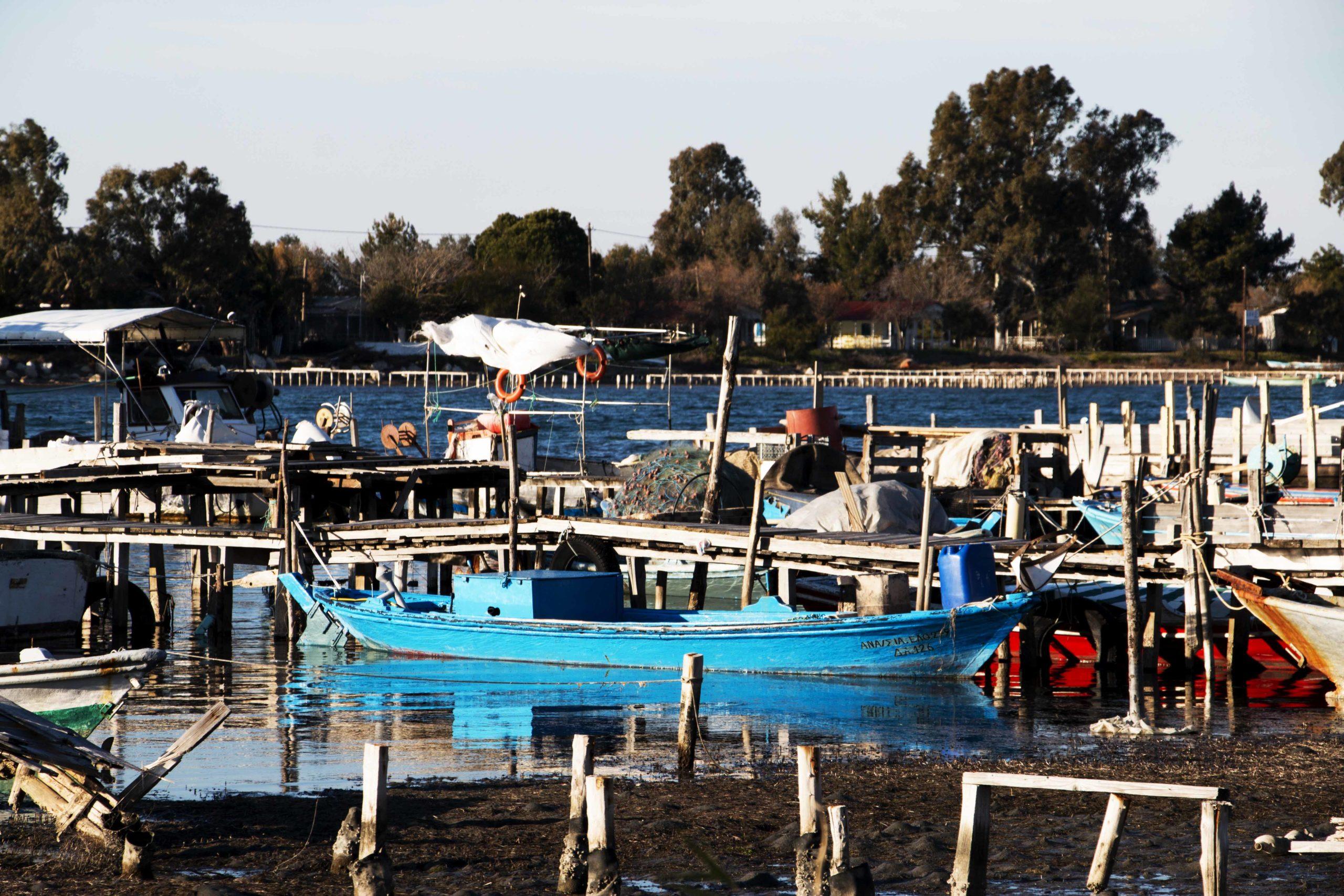 Ψαρόβαρκες, λιμανάκι Τουρλίδας1